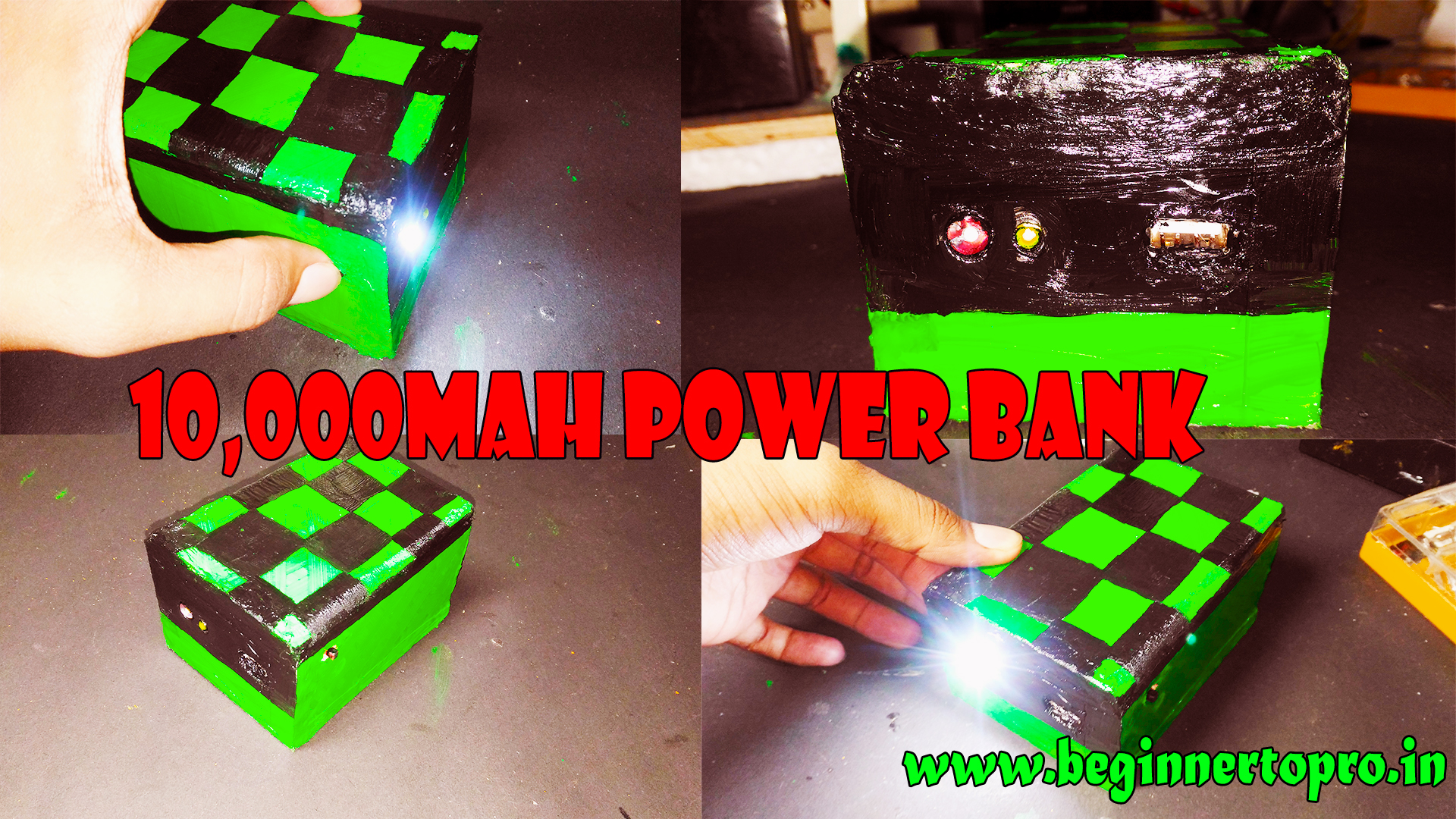 How To Make A 10000 Mah Power Bank Under Rs 5007666 Us Dollar 500 Wiring Diagram